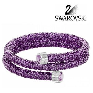 SWAROVSKI • Bransoletka Crystaldust Heart Double Bangle • 399,00 zł
