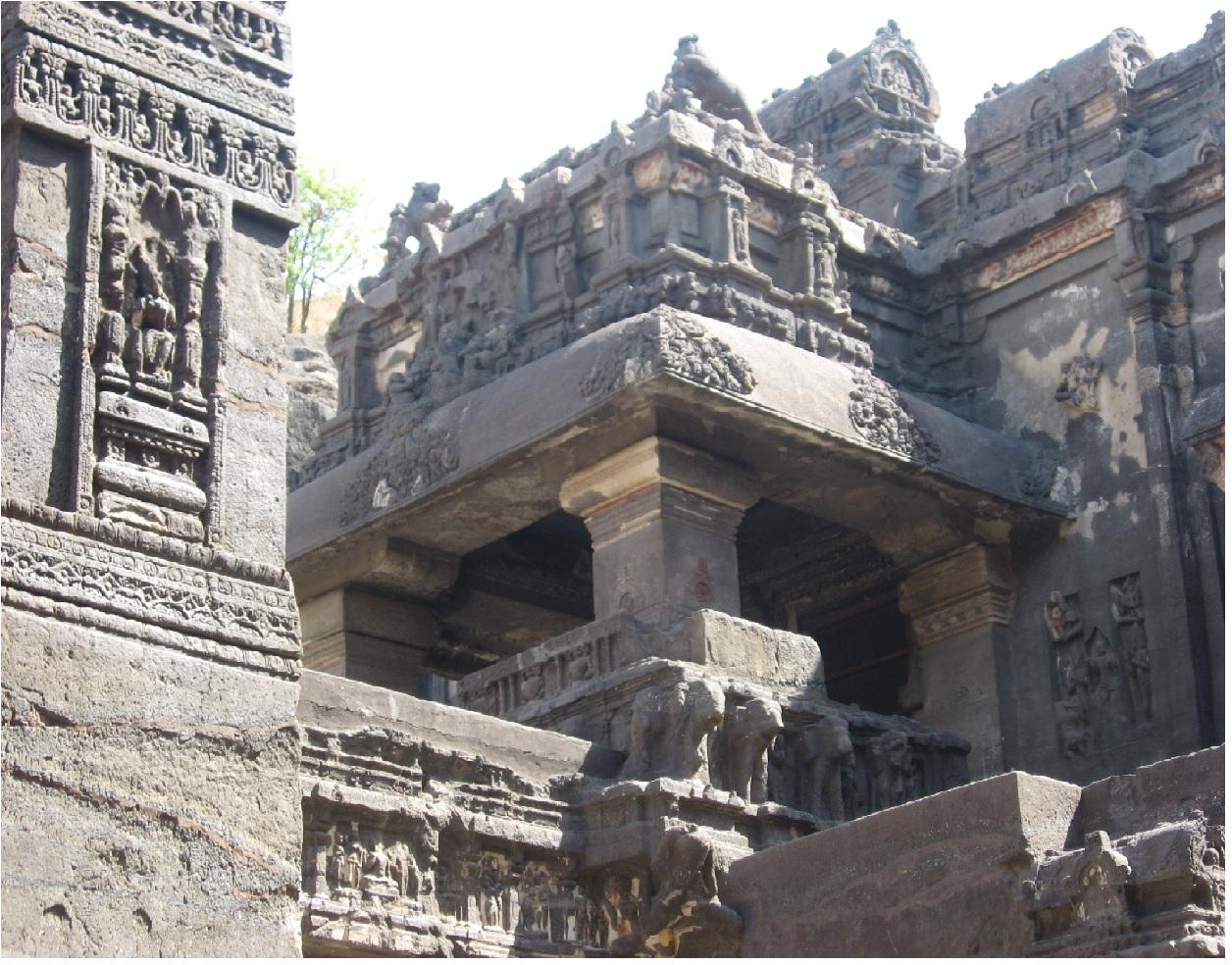 Indie-Aurangabad-Ajanta.