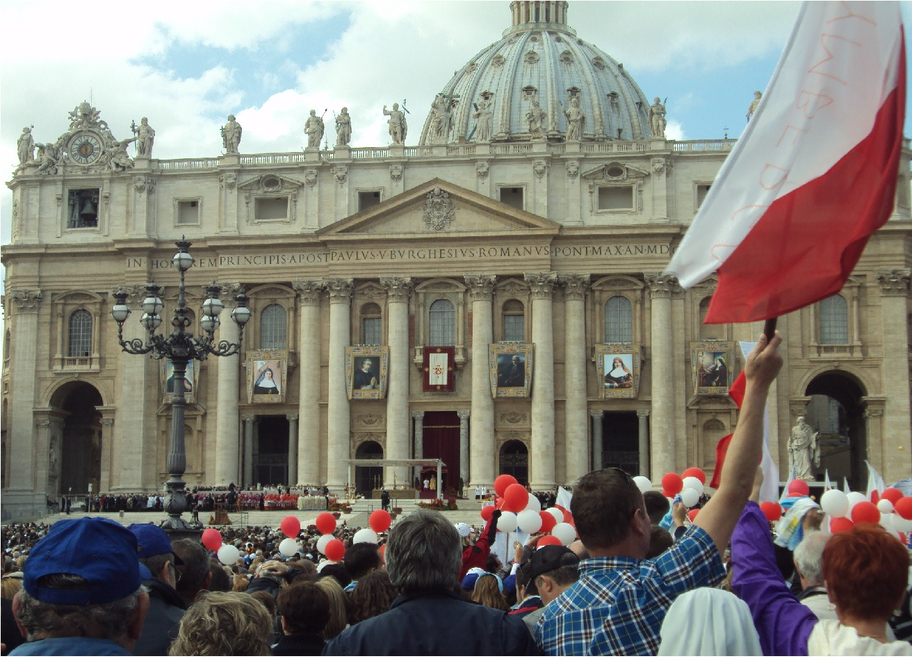 Duchowe pielgrzymowanie do Rzymu.