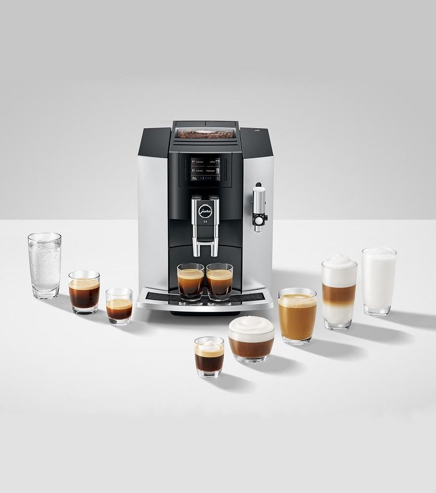 Ekspresy do kawy Jura. Szwajcarska jakość na każdą kieszeń.
